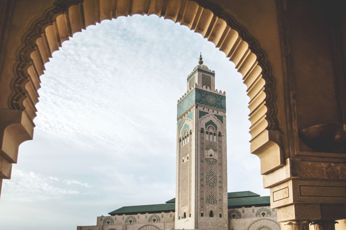 Photo de la mosquée Hassan 2 à Casablanca